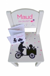 Maud geboortestoeltje